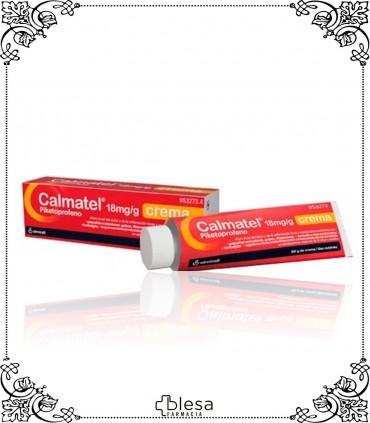Calmatel. 18 mg / g crema 1 tubo de 60 gramos