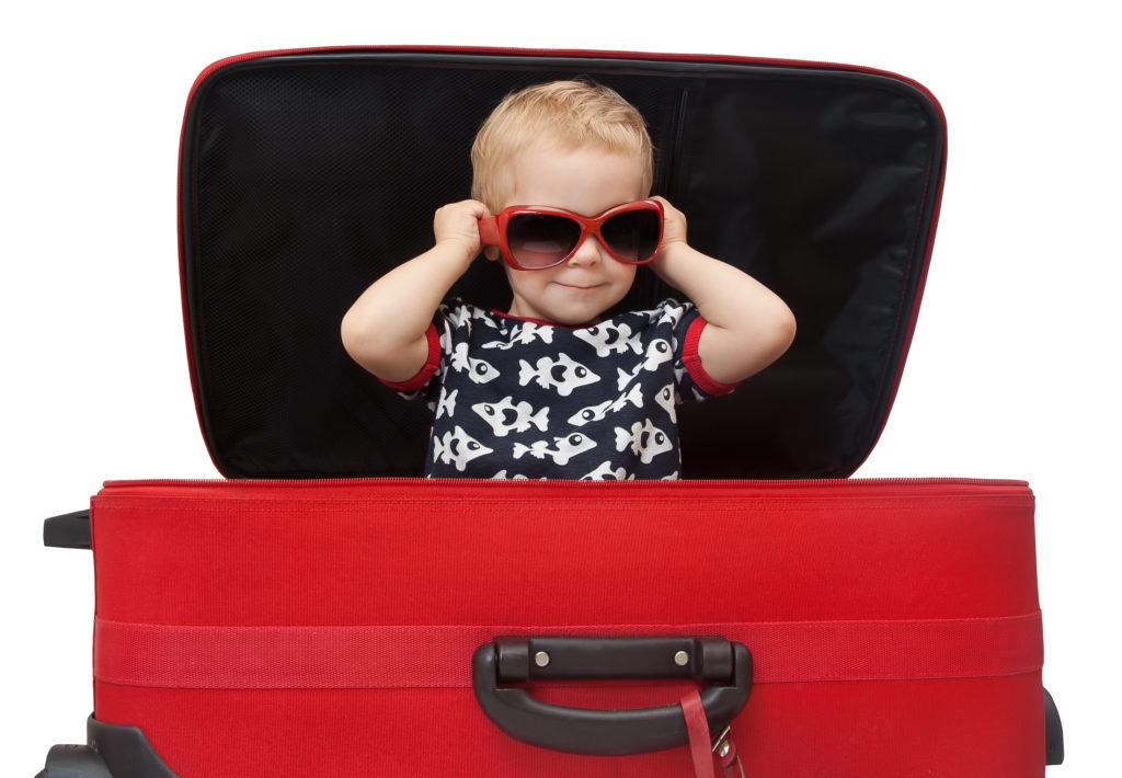 maleta viajar bebé
